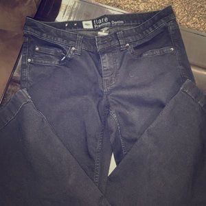 Mossimo black flare jeans